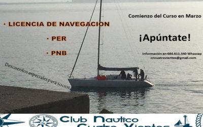Cursos Navegación